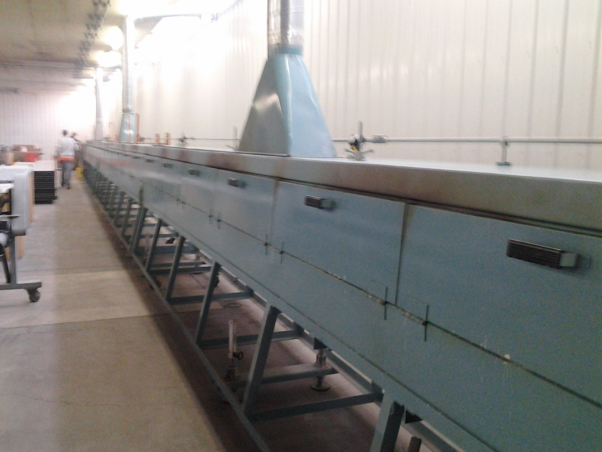 Rubber Curing line 2